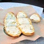 Italian cheese garlic bread