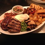Welsh mixed grill