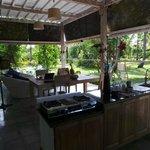 L'espace de vie au RDC de la Villa