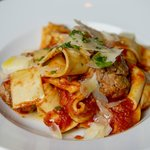 Pasta Bolognese with Meatballs