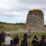 At Culloden on a Haggis Adventure 5 day Fling