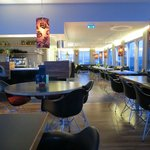 the top floor bar/breakfast room with great views