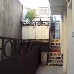 Vista interna - corredor de acesso à cozinha