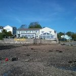View of Ferryhouse form lowtide waters edge