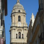 Malaga cathedral.  A visit to Malaga is a must.