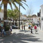 Mijas village square.