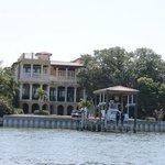 Grand homes on Davis Island