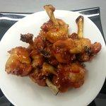 lollipop wings...yummy