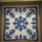 Beautiful Hawaiian quilts decorate many floors near the elevators