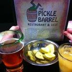 Pickles at Pickle Barrel