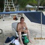 En la Playa, al frente Hotel El Dorado