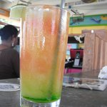 Melon Drink at the Barefoot Bar