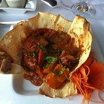 scallops in a wonderful sauce!