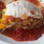 Homemade lasagna at Emme of Capri