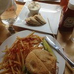 Awesome Salmon Burger