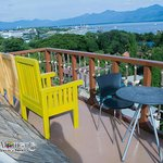 viewing deck facing honda bay