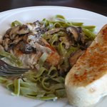 Delicious Chicken Marsala in River's Edge