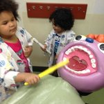 play dentist at Children's Museum Memphis