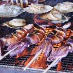 grilled squids