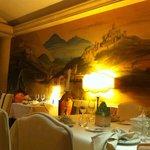 Affresco nel ristorante - Panoramica veneta