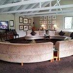 Lounge beside dining hall