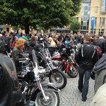 Magic Bike Rüdesheim Harley Festival - Bikers stop off in Boppard