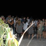 party notturno in spiaggia