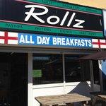 Rollz shop-front.
