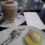 chai & lemon tart