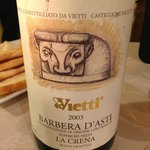 A really full bodied Barbera d'Asti...great stuff