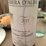 Barbera d'Alba..great wine with fillet