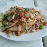 The chicken kuey tiao