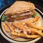 Grilled Chicken Triple Decker Sandwich