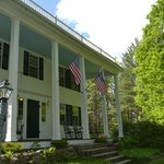 Spring photo - historic front porch