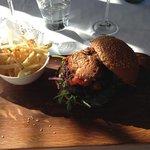 Wagy Foie Gras burger