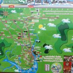 Map of Krabi town