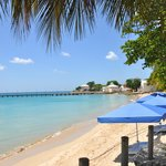 View of Speightstown and its jetty
