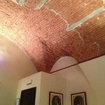 The Antiq room vaulted ceiling
