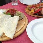 frizzling fajita platter beef