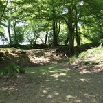Buckland Rings double ramparts