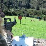 Paintball range is awesome fun!