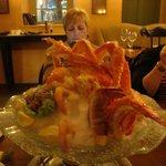 My appetizer----!