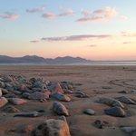 Dinas Dinlle blue flag beach.