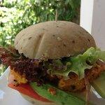 Delicious and tasty veggie (vegan) burger