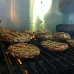 a full grill of delusions burgers