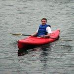 Rent Kayaks from Rumbling Bald Activities Center.