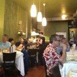 Inside Dining Room at Bistro 7