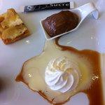 Dessert délicieux