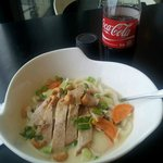 Undon Soup/ sweet and sour yuuuummm