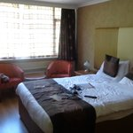 Our double room facing the car park at rear of hotel